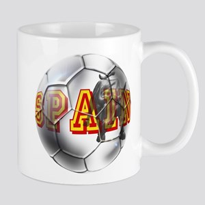 Spanish Soccer Ball Mug