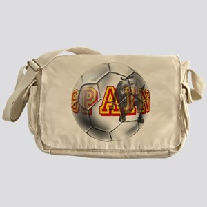 Spanish Soccer Ball Messenger Bag
