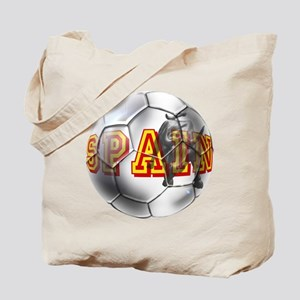 Spanish Soccer Ball Tote Bag