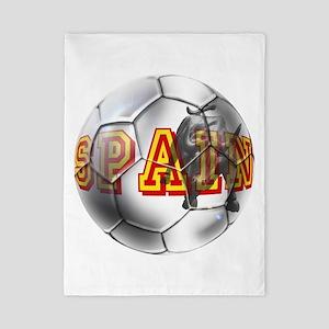 Spanish Soccer Ball Twin Duvet