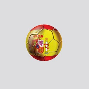 Spanish Futbol Mini Button