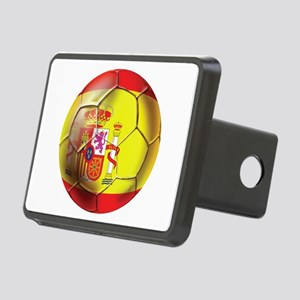 Spanish Futbol Rectangular Hitch Cover