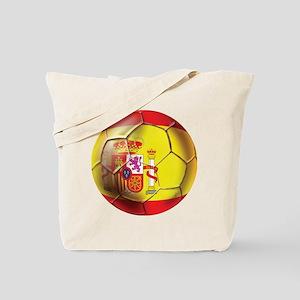 Spanish Futbol Tote Bag