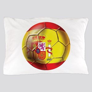 Spanish Futbol Pillow Case