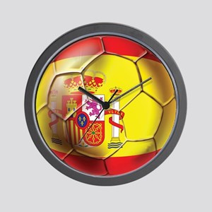 Spanish Futbol Wall Clock