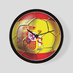 Spanish Futbol Wall Clock