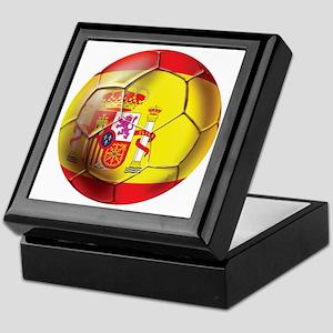 Spanish Futbol Keepsake Box