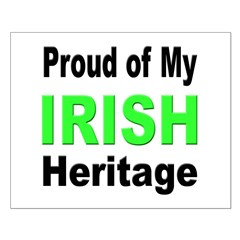 Proud Irish Heritage Posters