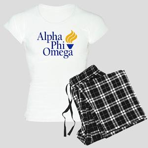 Alpha Phi Omega Fraternity Women's Light Pajamas