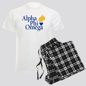 Alpha Phi Omega Fraternity Lo Men's Light Pajamas