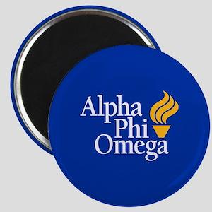 Alpha Phi Omega Fraternity Logo Magnet