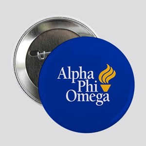 "Alpha Phi Omega Fraternity Logo 2.25"" Button"