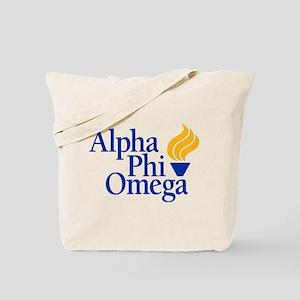 Alpha Phi Omega Fraternity Logo Tote Bag