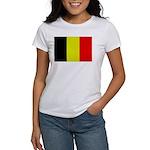 Large Belgian Flag Women's T-Shirt