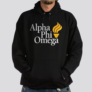 Alpha Phi Omega Fraternity Logo Hoodie (dark)