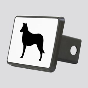 Smooth Collie Rectangular Hitch Cover