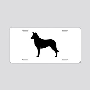 Smooth Collie Aluminum License Plate