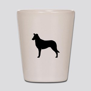 Smooth Collie Shot Glass