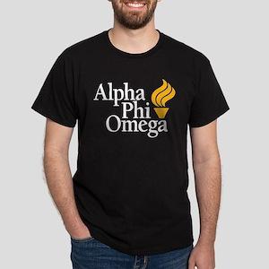 Alpha Phi Omega Fraternity Logo Dark T-Shirt