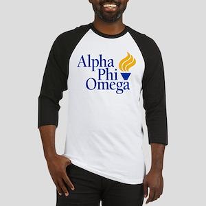 Alpha Phi Omega Fraternity Logo Baseball Jersey