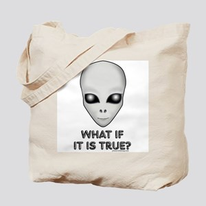 What If There Are Aliens? Tote Bag