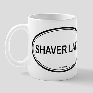 Shaver Lake oval Mug