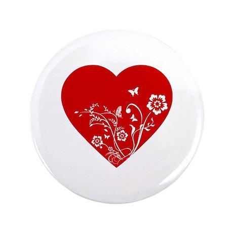 """Heart 3.5"""" Button"""