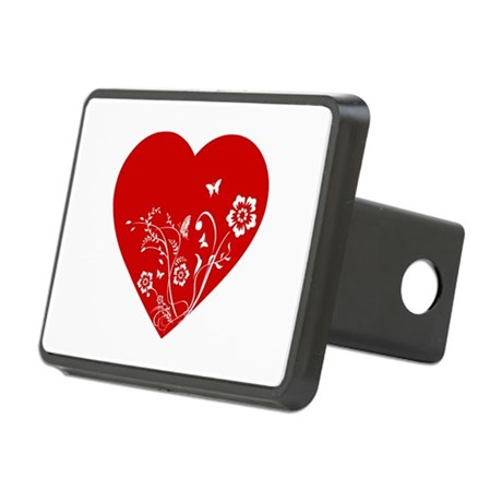Heart Rectangular Hitch Cover