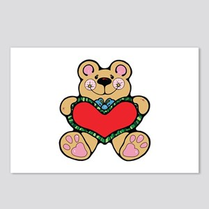 Bear Heary Postcards (Package of 8)
