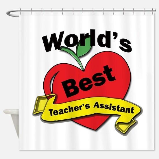 Assistant teacher Shower Curtain