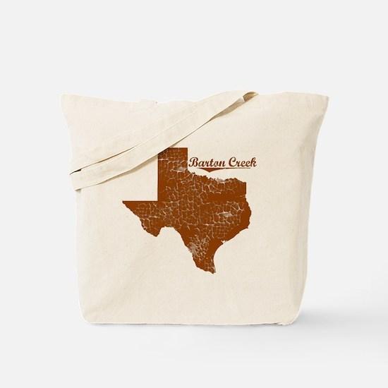 Barton Creek, Texas (Search Any City!) Tote Bag