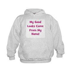 Good Looks From Nana - Pink Hoodie