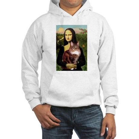 Mona's Maine Coon Hooded Sweatshirt