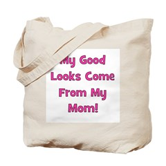 Godo Looks From Mom - Pink Tote Bag