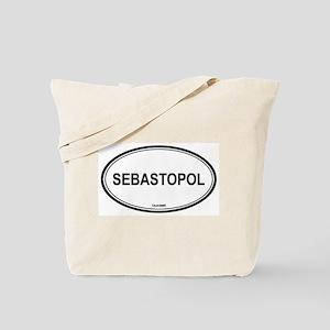 Sebastopol oval Tote Bag