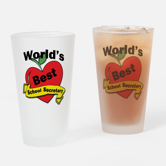 Unique Best secretary Drinking Glass