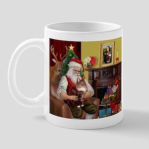 Santa's Maine Coon Mug