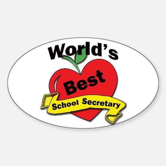 Cool Assistant teacher Sticker (Oval)