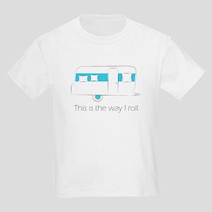 way I roll Kids Light T-Shirt