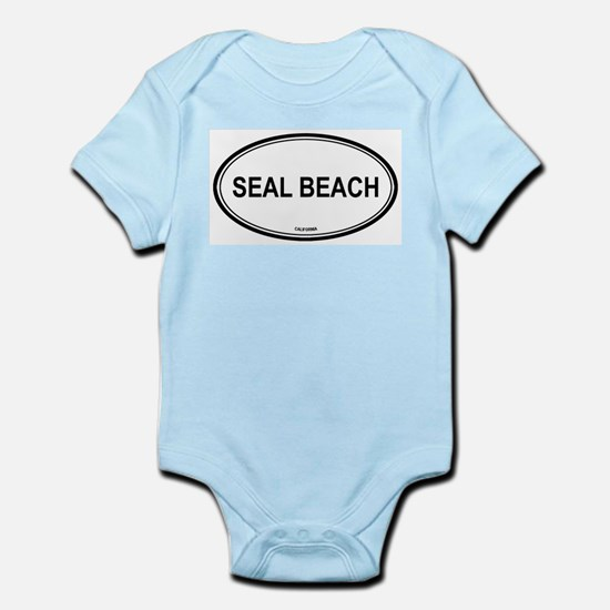 Seal Beach oval Infant Creeper
