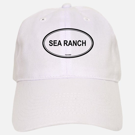 Sea Ranch oval Baseball Baseball Cap