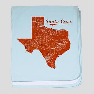 Santa Cruz, Texas (Search Any City!) baby blanket