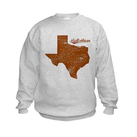 Midlothian, Texas (Search Any City!) Kids Sweatshi