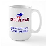 Republican because Large Mug