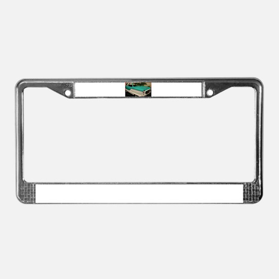 Classic car, retro photo! License Plate Frame