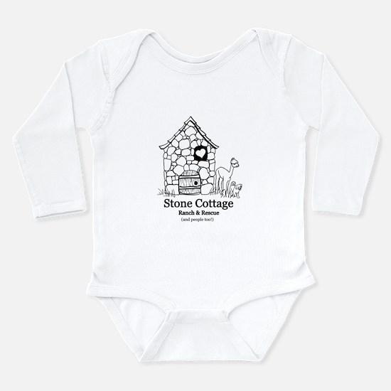 Black Logo Long Sleeve Infant Bodysuit