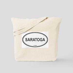 Saratoga oval Tote Bag