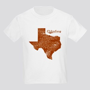 Oldenburg, Texas (Search Any City!) Kids Light T-S