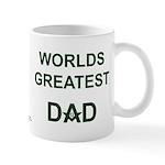 Worlds greatest Dad and Mason Mug