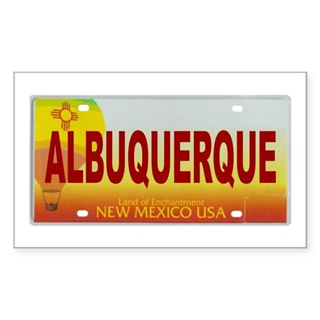 New Mexico License Plate Sticker